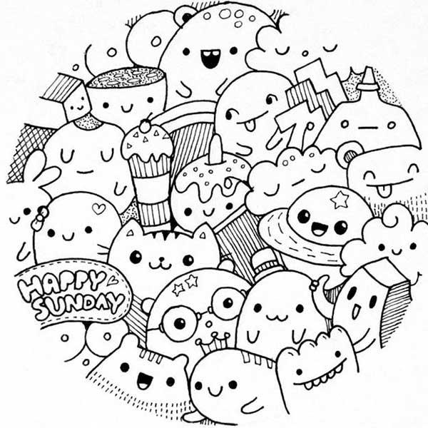 Рисунки в скетчбук