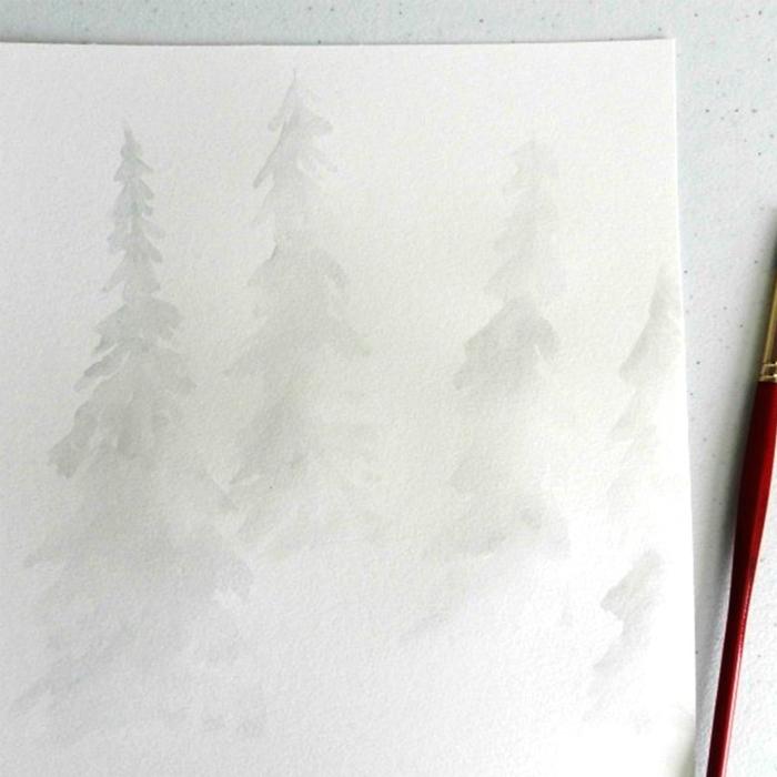 Как рисовать акварелью
