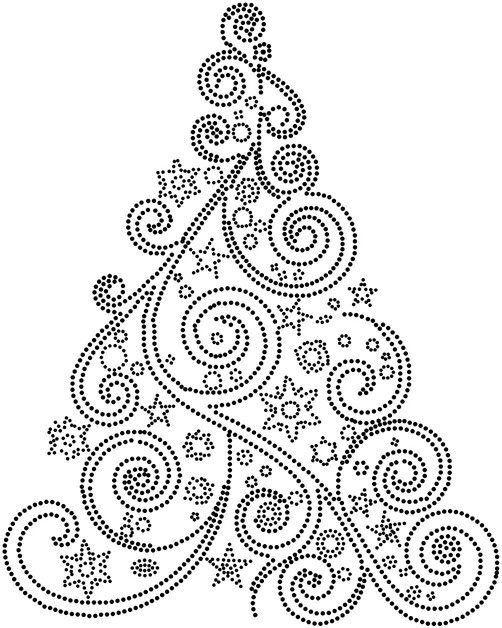 Раскраска елочка новогодняя Несколько вариантов раскраски ...
