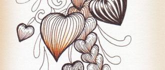 уроки рисования дудлинга и зентангла