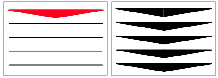 Уроки Дудлинга. Прямые линии. Урок 1