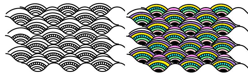 2 Урок. Кривые линии и волны