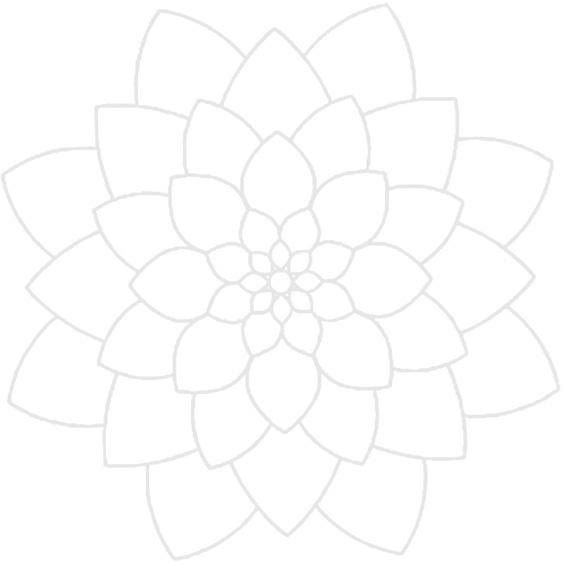 Урок рисования простой зендалы