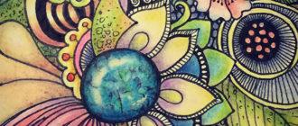 медитативные рисунки, зентангл, дудлинг