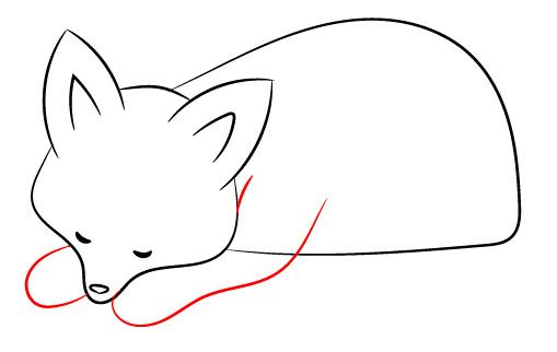Как нарисовать лису