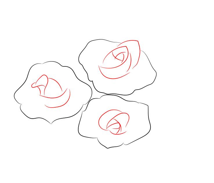 Весенняя тематика, как нарисовать розу картинки ну-ка