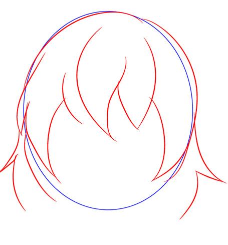 Как нарисовать Фриск из Андертейл