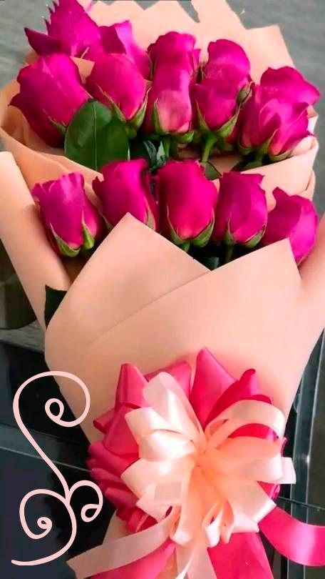 Красивые букеты в День Рождения женщине