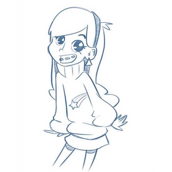 Картинки для срисовки Гравити Фолз