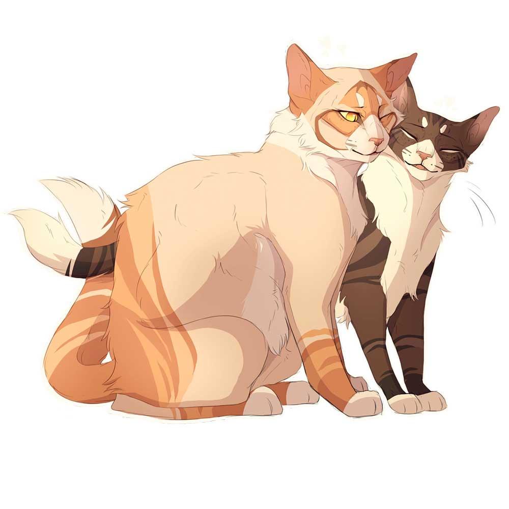 Картинки котов воителей