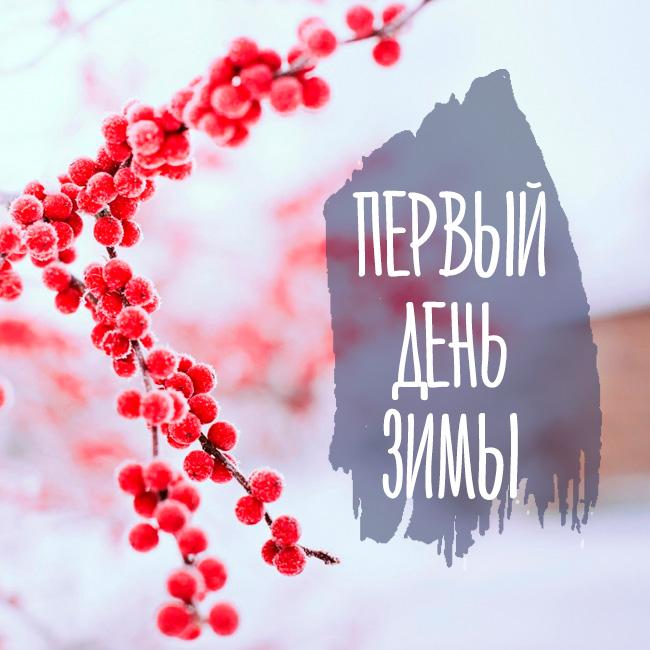 Первый день зимы. Картинки.